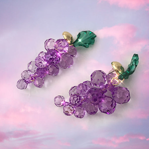 Have A Grape Day Earrings