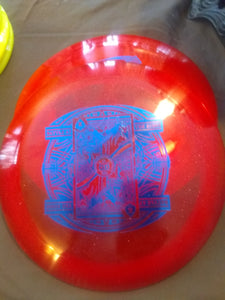 Dynamic Discs Captain Sparkle Lucid Battle II Red  168