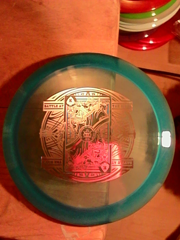 Dynamic Discs Escape Lucid Battle II Blue 173 Grams