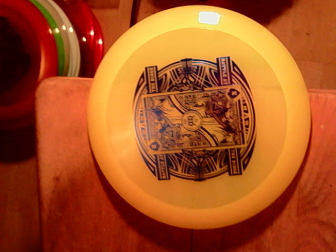 Dynamic Discs Getaway Lucid Air Battle II Yellow 159 grams