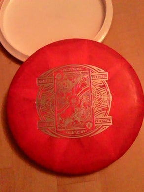 Dynamic Discs Classic Blend Burst Guard Pink/Red 173 Grams