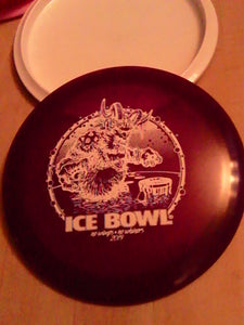 Dynamic Discs Lucid Getaway Ice Bowl 2019 Purple 170 Grams