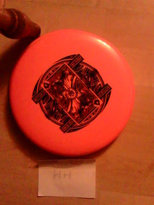 Westside Tournament Plastic Shield Battle II Orange 174 Grams
