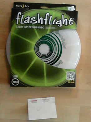 Nite Ize Flashflight Light up Flying Disc Green