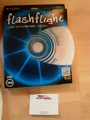FlashFlight Light up Flying Disc Blue Nite Ize