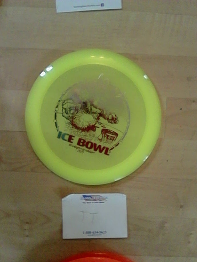 Dynamic Discs Lucid Sheriff Ice Bowl 2019 Yellow 171 Grams