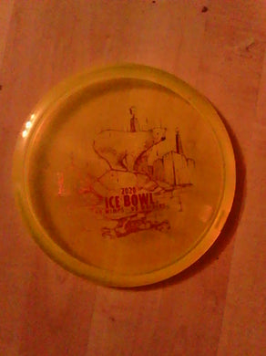 Discraft Z Buzzz Ice Bowl 2020 Yellow 177+ G*