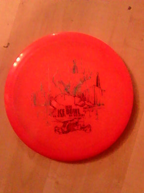 Dynamic Discs Lucid Verdict Ice Bowl 2020 Red 169 Grams