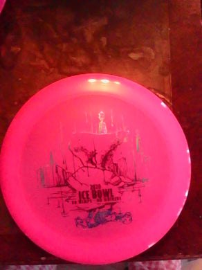 Dynamic Discs Pink Lucid Raider Ice Bowl 2020 168 G*