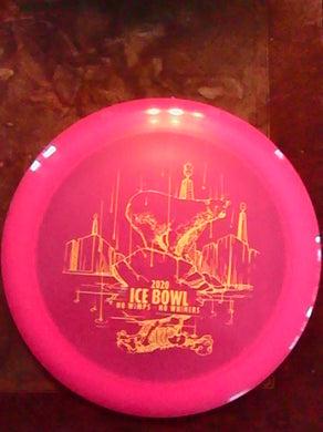 Dynamic Discs Pink Lucid Raider Ice Bowl 2020 165 G*