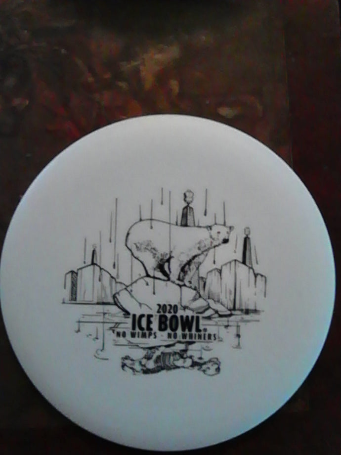 Innova DX Glow Flat Top Roc Ice Bowl 2020 176 Grams