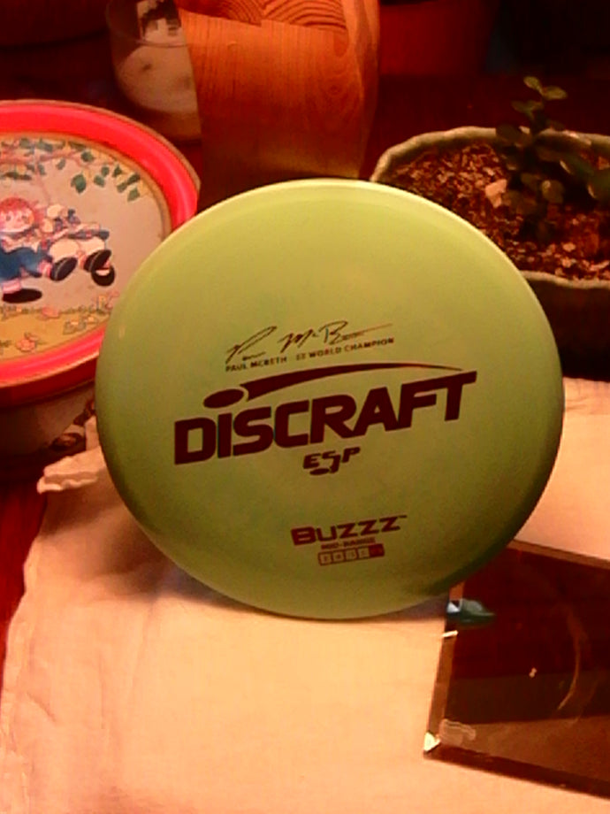 Discraft ESP Paul McBeth 5x World Champion Buzzz 175-176 Grams