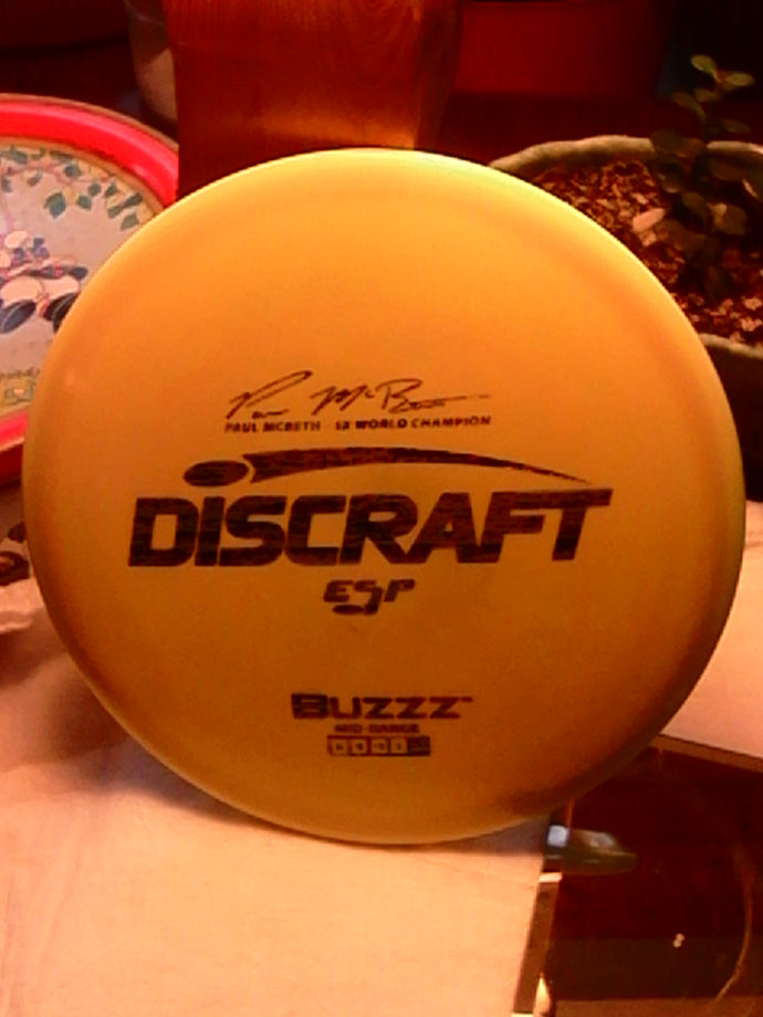 Discraft ESP Paul McBeth 5x World Champion Buzzz 173-174 Grams