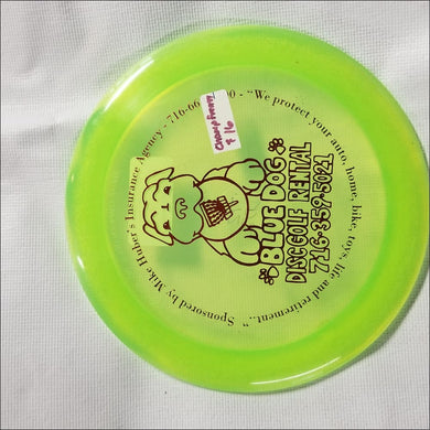 Discmania Blue Dog C Line Dd2 Frenzy 172 Grams
