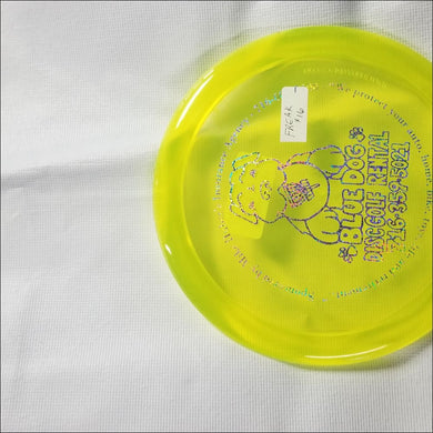 Discmania Bluedog C Line Yellow Pd Freak 171 Grams