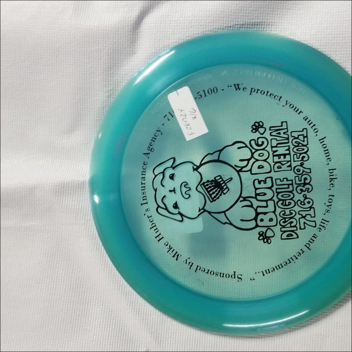 Discmania C-Line Bluedog Dd2 Frenzy Blue 175 Grams