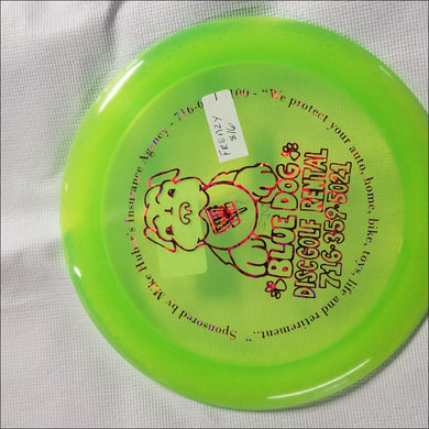 Discmania C-Line Bluedog Dd2 Frenzy Green 173 Grams
