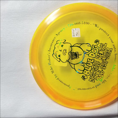 Discmania C Line Yellow Bluedog Fd Jackal 173 Grams