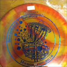 Load image into Gallery viewer, Discraft Fly Dye Shamrock Shindig Z Plastic Predator 173 Grams