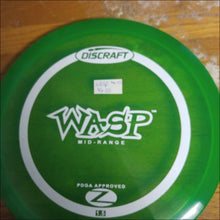 Load image into Gallery viewer, Discraft Green Stock Z Wasp 164-166 Grams