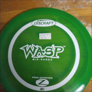 Discraft Green Stock Z Wasp 164-166 Grams