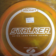 Load image into Gallery viewer, Discraft Orange Stock Z Stalker 167- 169 Grams