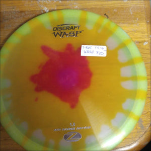 Discraft Tye Dye Z Stock Wasp 173-174 Grams