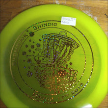 Load image into Gallery viewer, Discraft Yellow Shamrock Shindig Z Thrasher 170-172 Grams