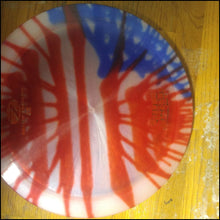 Load image into Gallery viewer, Discraft Z Machete Stock Tye Dye American Flag 167- 169 Grams