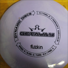 Load image into Gallery viewer, Dynamic Discs Purple Fuzien Getaway 173 Grams