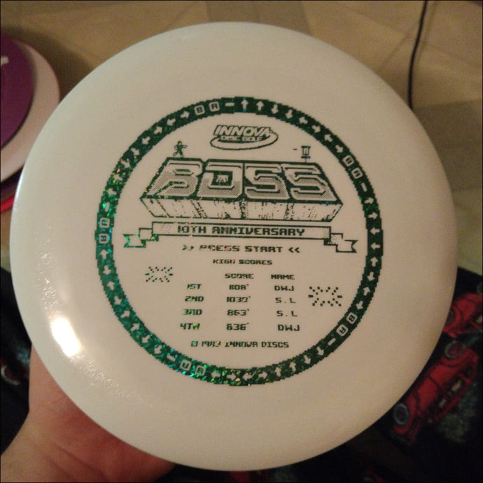 Innova White 10Th Anniversary Star Boss 168 Gram