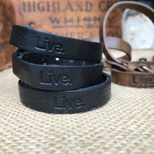 Classic Leather Bracelet - Black