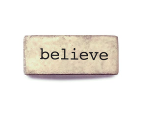 Word of Inspiration - believe