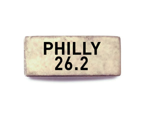Philly 26.2 (silver) - Bucket Bands