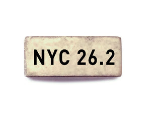 NYC 26.2 (silver) - Bucket Bands