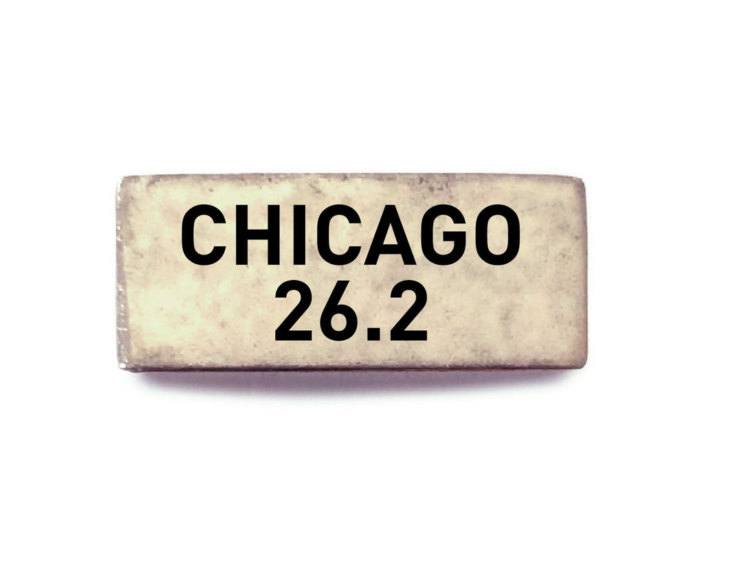 Chicago 26.2 (silver) - Bucket Bands