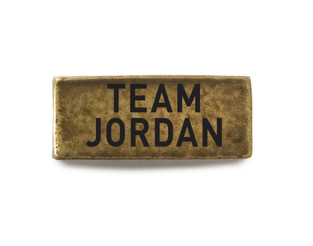 Team Jordan (Brass) - Bucket Bands