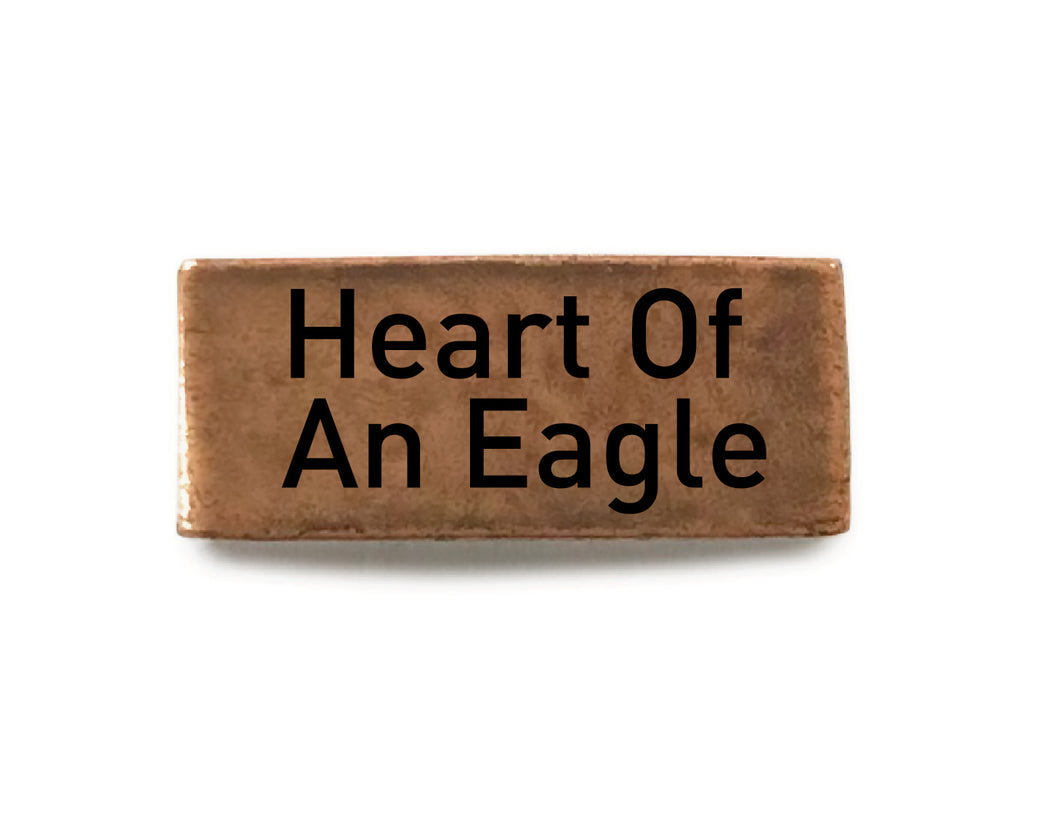 Heart of An Eagle (Copper) - Bucket Bands