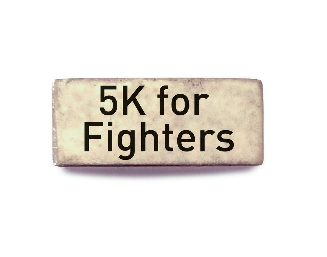 5K for Fighters (Silver) - Bucket Bands
