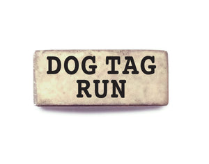 Dog Tag Run (Silver) - Bucket Bands