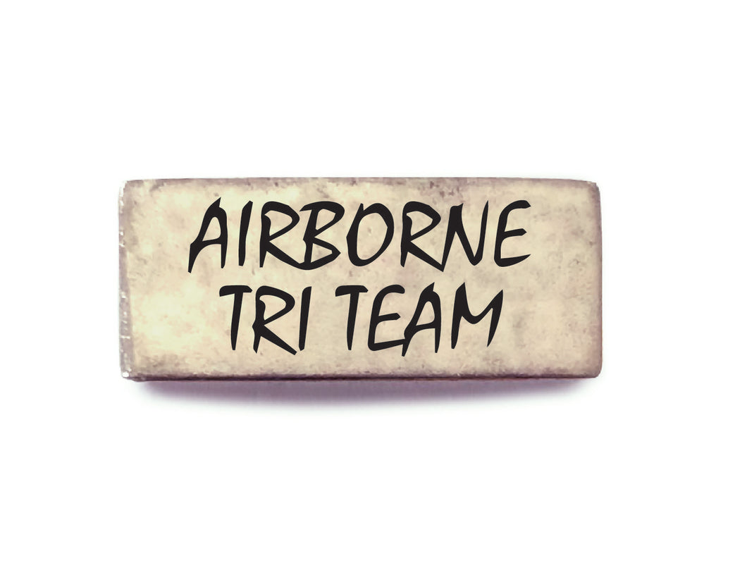 Airborne Tri Team Band (Silver) - Bucket Bands