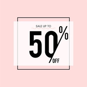SALE TIME . 50% OFF