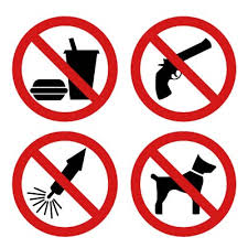 Items not allowed by Air Transport