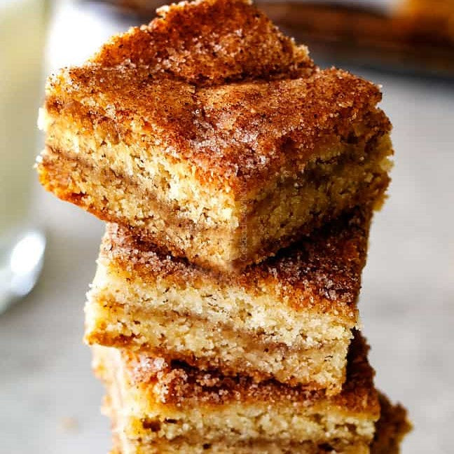 Snickerdoodle Cookie Bars (Take & Bake)