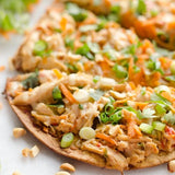 Thai Chicken Flatbreads