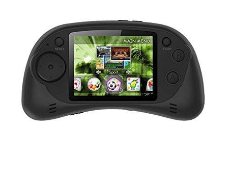"Handheld Portable Digital Screen 200 Preloaded Games , 2.7"" Color Display BLACK"