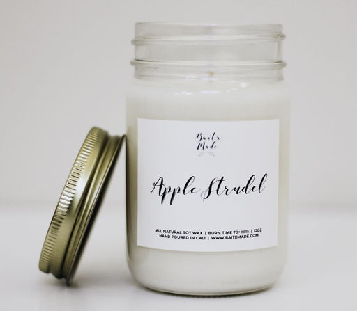 Baitx Made - Apple Strudel Candle, 12 oz