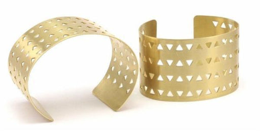 Boho Gal Jewelry - Coil Triangle Cuff