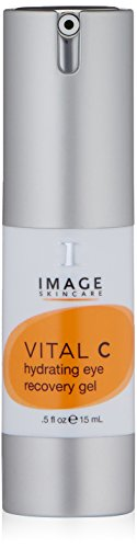 IMAGE Skincare Vital C Hydrating Eye Recovery Gel with SCT, Fresh Squeezed Oranges, 0.5 oz.