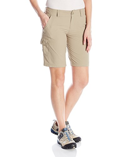Columbia Women's East Ridge II Shorts, Tusk, Size 10 x 10